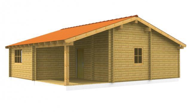 maison bois en kit maison bois alpha. Black Bedroom Furniture Sets. Home Design Ideas