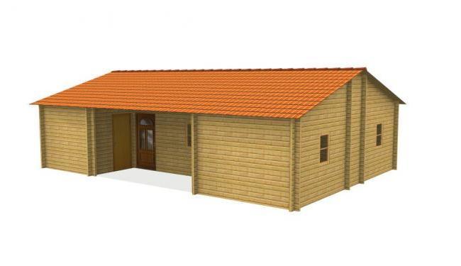 Maison bois en kit maison bois anna for Maison en bois en kit
