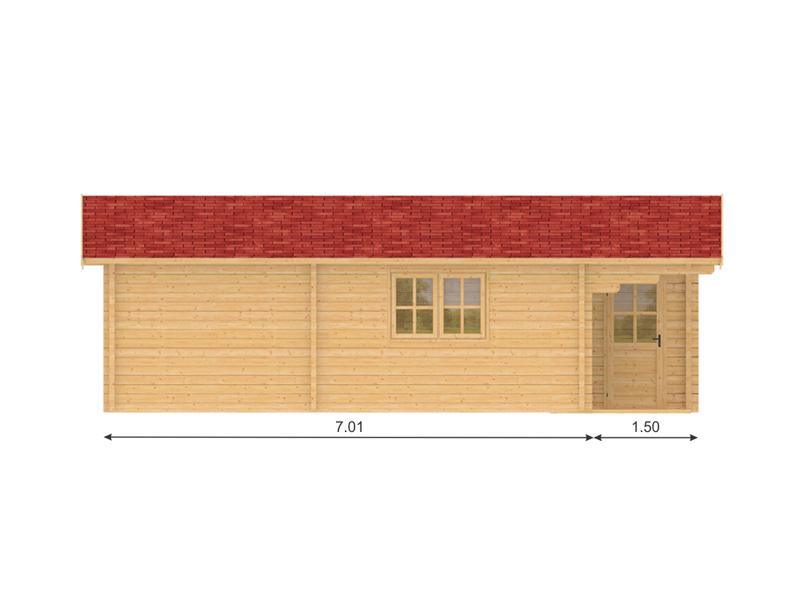 Sweden maison bois en kit for Kit maison en bois